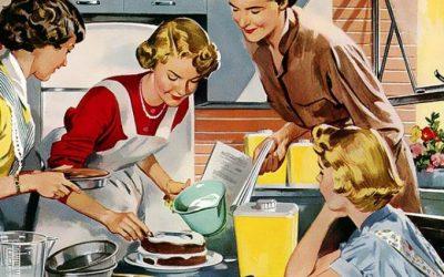 Desperate housewife: Los Olvidados, Bar Amor y receta de posguerra